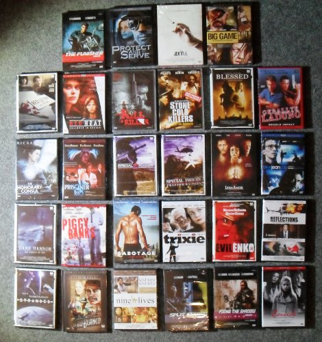 Thriller & Action 24 DVDs Sammlung
