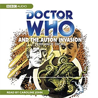 Doctor Who and the Auton Invasion audiobook cover art
