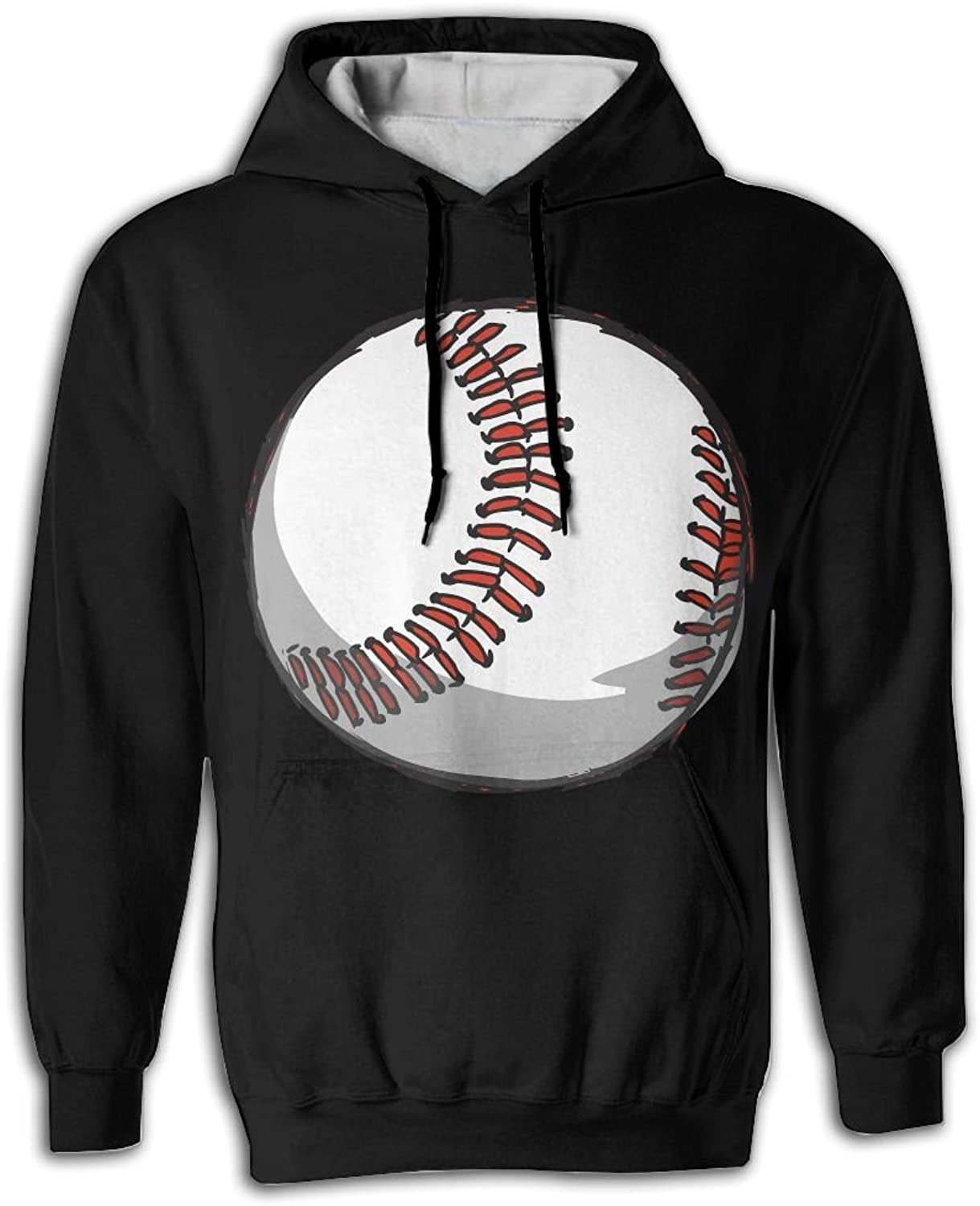 7ac7f626a Baseball Man Fashion Fashion Fashion Hoodie Sweatshirts Hooded Sweater with  Pocket 3D Print d462f6