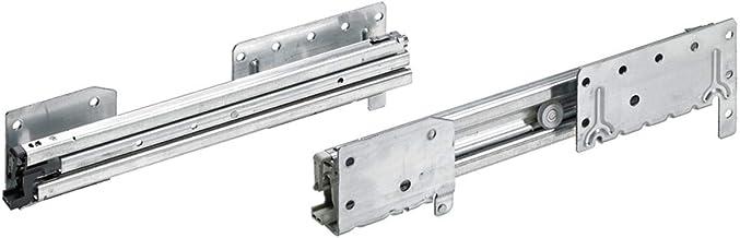 Hettich 9136065 Systema TOP 2000 Quadro Duplex 30 uittrekbaar, ET 400 mm, draagkracht 30 kg, zilver