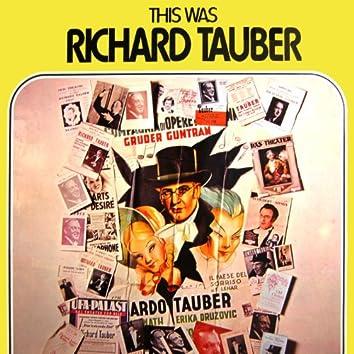 This Was Richard Tauber