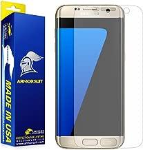 Samsung Galaxy S7 Edge Screen Protector Anti-Glare [Full Coverage], Armorsuit MilitaryShield - Lifetime Replacements - Anti-Fingerprint, Anti-Bubble Shield - Matte