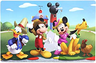 NEILDEN Disney Puzzle in a Metal Box 60 Pieces Jigsaw Puzzles for Kids Ages 4-8 for Children Learning Educational Puzzles for Boys and Girls (Mickey Mouse)