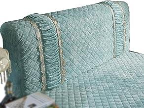 Bed Headboard Slipcover ProtectorPolyester Fiber Elasticity Stretch Solid Color for Decor Slip Cover for Bedroom Decor Ela...