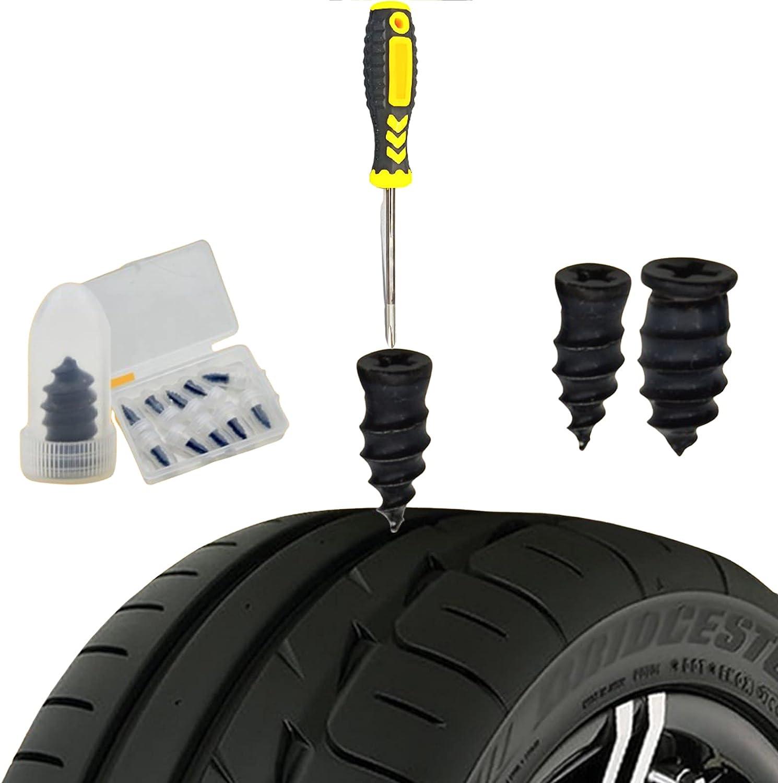 YYGHF Car Tire Repair Rubber Nails Large-scale sale Pcs S 35% OFF Soft 20 self-Repairing