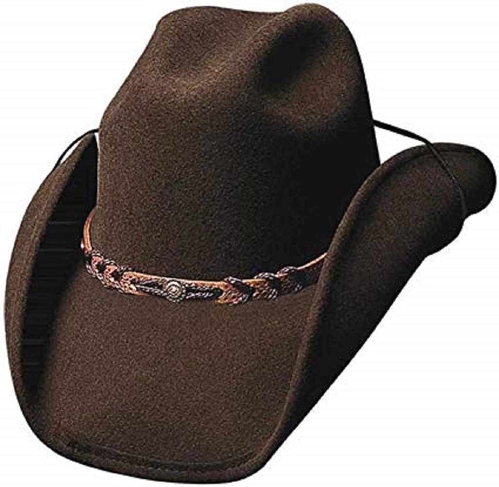 Montecarlo Bullhide Hats Montana Wool Western Cowboy Hat