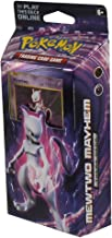 Pokémon XY Evolutions - Mewtwo Mayhem Theme Deck | Full Ready to Play Deck of 60 Cards | Includes Cracked Ice Holofoil version of Mewtwo Plus Deck Case, Chansey Metallic Coin & More