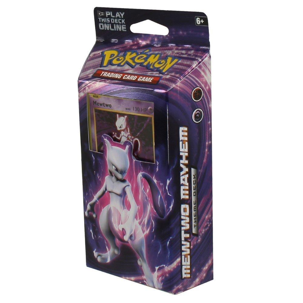 Genuine Free Shipping Pokémon XY Evolutions - Mewtwo Full Deck Ready Mayhem shipfree Theme