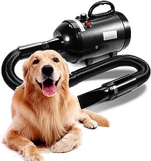 AIIYME Dog Dryer, 3200W/4.3HP Motor Stepless Adjustable Speed Dog Hair Dryer Pet Dog Grooming Dryer Blower with Adjustable...