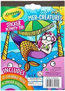 Mer-Creatures Sticker Activity Pad