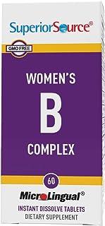 Superior Source Womens B Complex w/B12/F. Acid (60 Tablets)