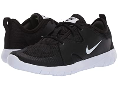 Nike Kids Flex Contact 3 (Big Kid) (Black/White) Kids Shoes