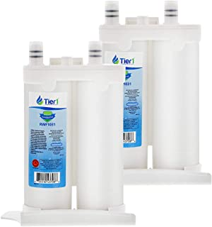 Tier1 Replacement for Frigidaire WF2CB PureSource2, NGFC 2000, 1004-42-FA, 469911, 469916, FC 100 Refrigerator Water Filter 2 Pack