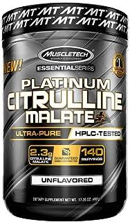 L Citrulline Malate | MuscleTech L-Citrulline Powder | Pre Workout Nitric Oxide Booster | Increase Blood Flow & Vasodilati...