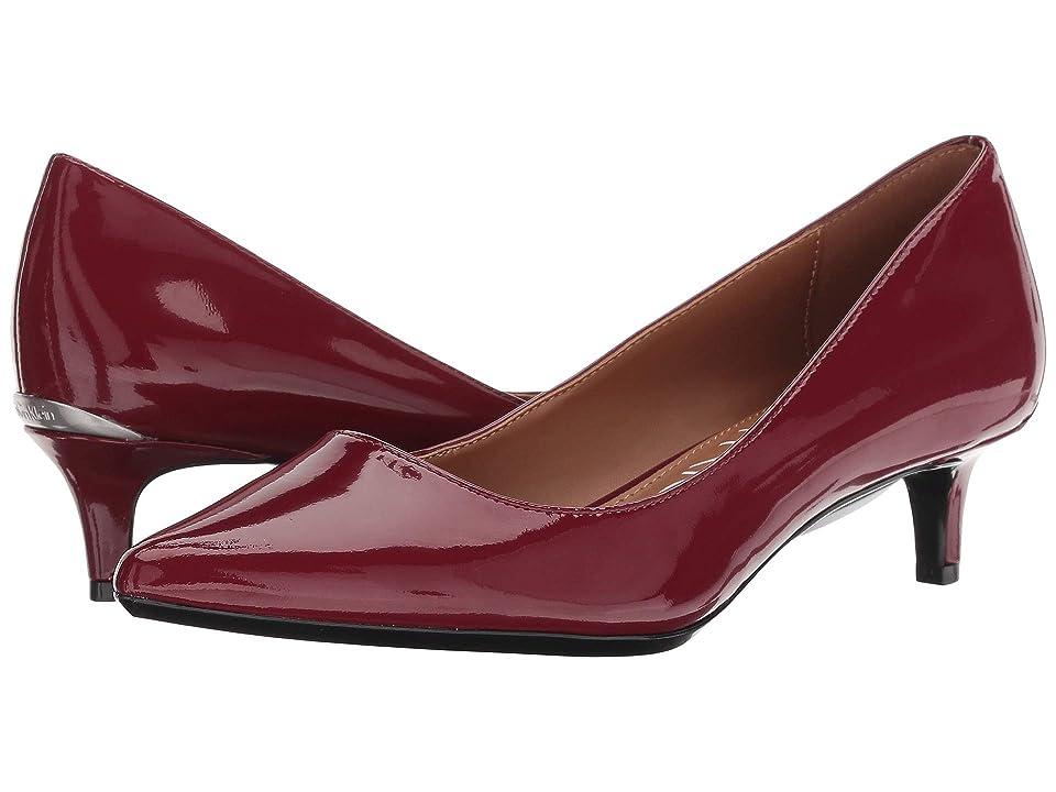 Calvin Klein Gabrianna Pump (Red Rock Patent) Women