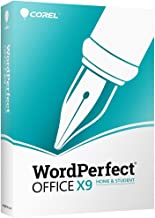 Corel WordPerfect Office X9 Home & Student Edition [PC Disc]
