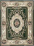Carpeto Rugs Tapis Salon Vert 300 x 400 cm Oriental/Verona Collection