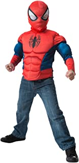 Imagine by Rubie's Marvel Child's Spider-Man Muscle Chest Shirt Set
