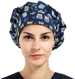 1pc Women's Bouffant Scrub Cap for Long Hair Ladies