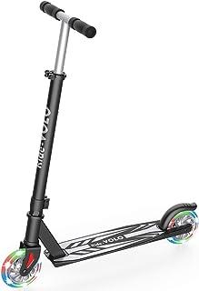 RideVOLO K05 Scooter 2 Wheel Kick، PU Flash Wheels، 3 Adjustable Heights Handle Handle، سبک وزن سبک آلیاژ آلومینیوم با دوام (فقط 5.19 پوند) و حداکثر بار 110 پوند