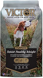 victor select senior healthy weight formula
