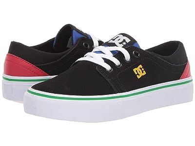 DC Kids Trase (Little Kid/Big Kid) (Black Multi) Boys Shoes