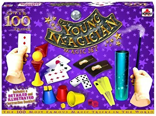 ahorra hasta un 30-50% de descuento The Young Magician 100 100 100 Tricks Magic Set by Educa  hasta 42% de descuento