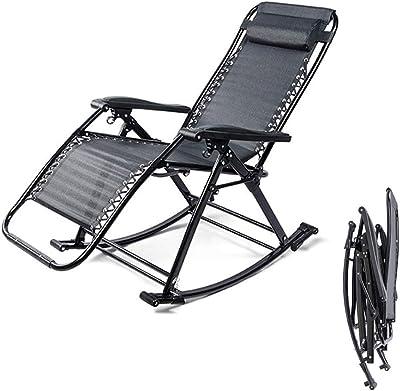 TGJD Zero Gravity Chair,Reclining Patio Chairs Recliner Folding Patio Lounge Chair for Deck Patio Beach Yard