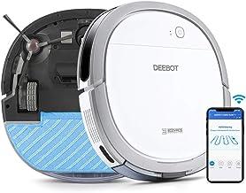 【5.7cm超薄型】DEEBOT OZMO Slim11 エコバックス ロボット掃除機 水拭き 薄型 フローリング/畳掃除 除菌率99.26% スマホ連動 Alexa対応 ホワイト ECOVACS直営店限定2年保証