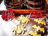 Halloween Spider Cookie Cutter Food Grade Plastic Cookie Cutter Shapes for Kids bakeware Halloween Cookie Cutter