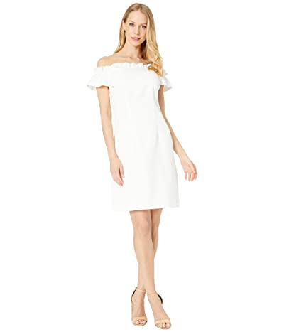 Trina Turk Seek Dress (Whitewash) Women