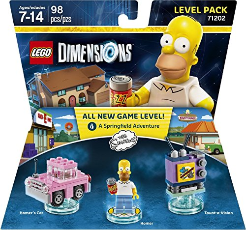 Simpsons Level Pack - LEGO Dimensions by Warner Home