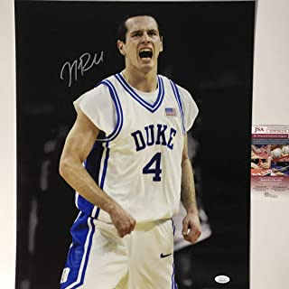 Autographed/Signed JJ J.J. Redick Duke Blue Devils 16x20 College Basketball Photo JSA COA
