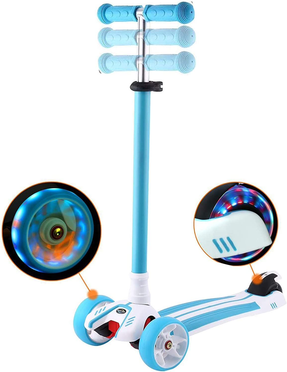 Scooter for Kids Ages 3-12 Topics on TV Adjusta Genuine Free Shipping Wheel Kick Toddler 3