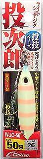オーナー(OWNER) メタルジグ WJC-50 投次郎50 No.31996 26 グロピンゼブラ
