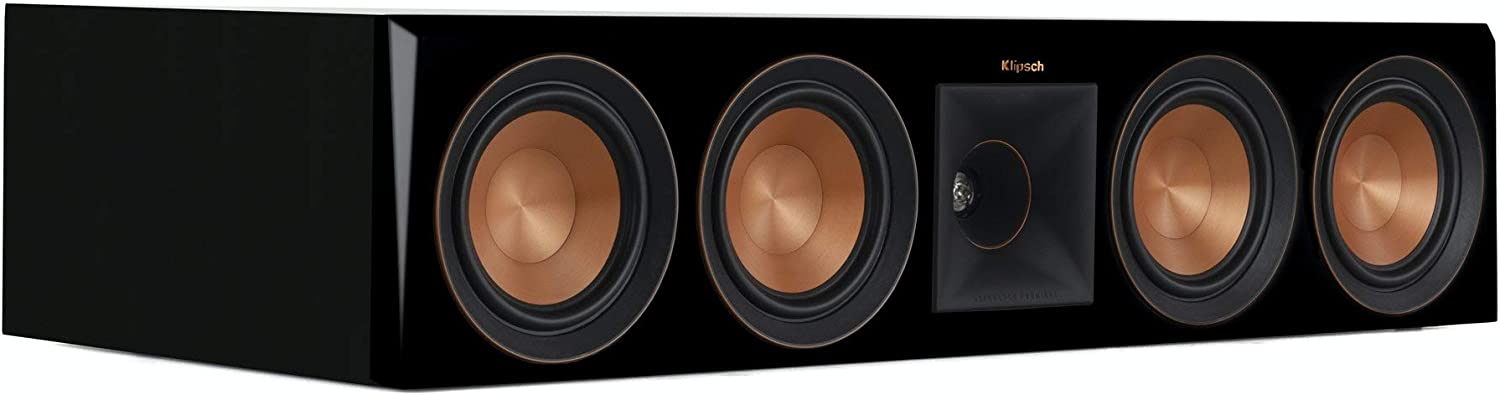 Klipsch RP-504C Center New products world's highest quality Max 42% OFF popular Speaker Ebony Channel