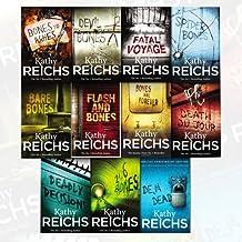 Temperance Brennan Series Kathy Reichs Collection 11 Books Bundle (Deja Dead, Deadly Decisions, 206 Bones, Devil Bones, Ba...