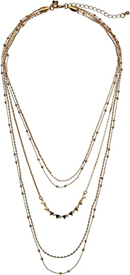 Rebecca Minkoff - Ellie Triangle Layers Necklace