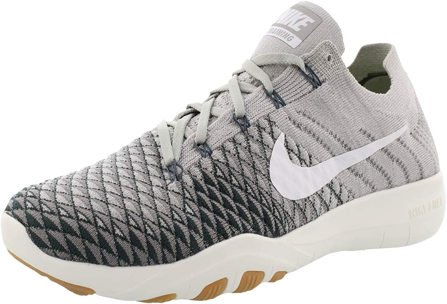Nike Womens Free Tr Flyknit 2 Fabric Low Top Lace Up Running Sneaker
