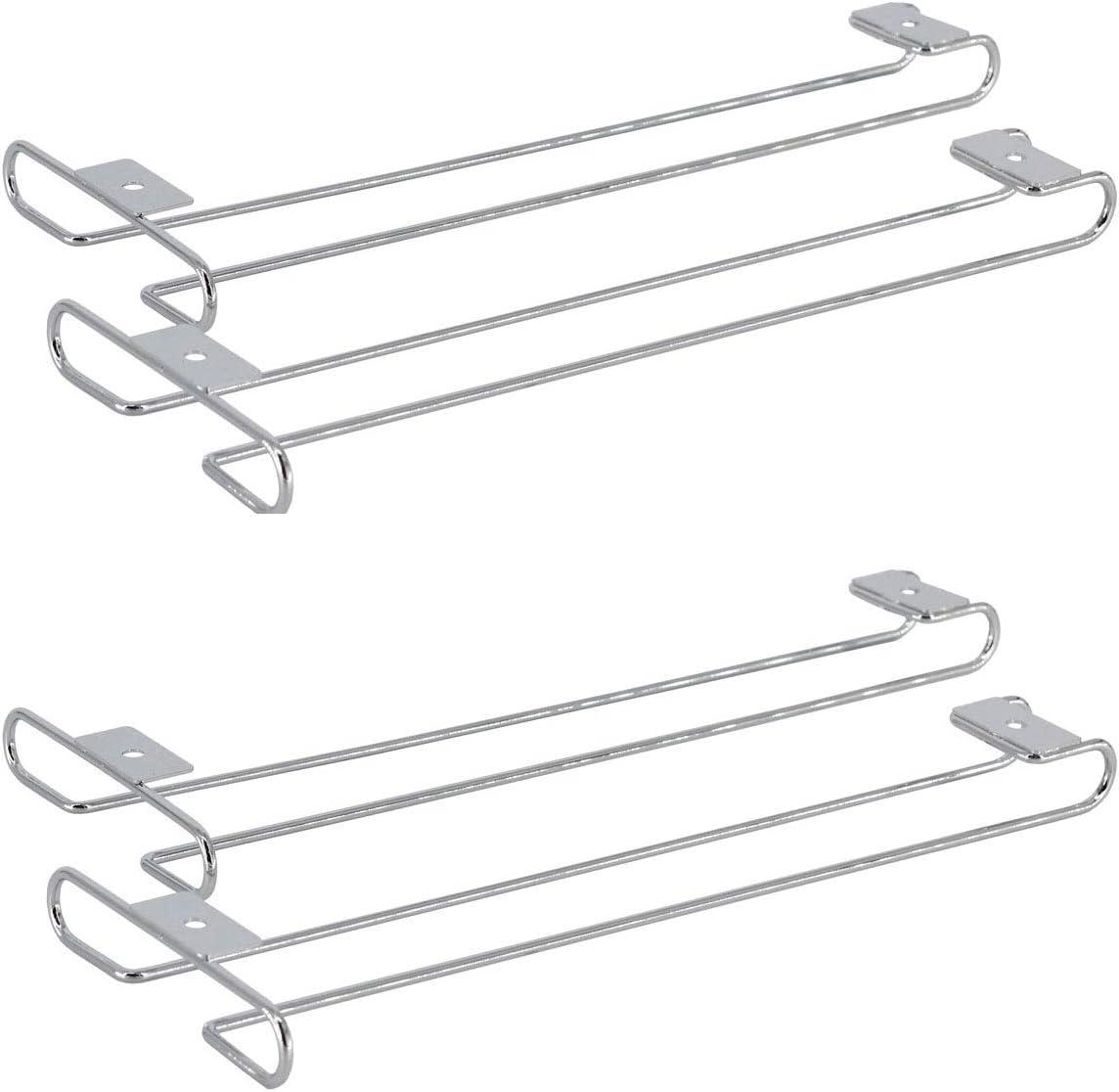 Under Cabinet Wine Glass Weekly update Stemware Luxury goods Hanger Kitchen Holder Rack for