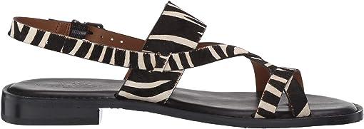 Black Zebra Haircalf