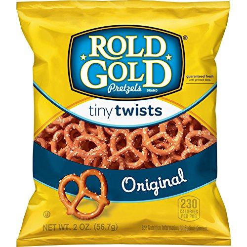 Rold Gold Tiny Twists Pretzels, 2 oz (Pack of 64)