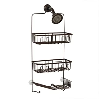 Zenna Home Over-The-Showerhead Caddy, Oil Rubbed Bronze