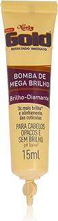 Ampola Tratamento 15 ml Mega Brilho C/3, Niely Gold