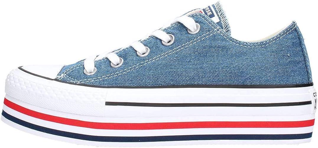 converse scarpe donna blu