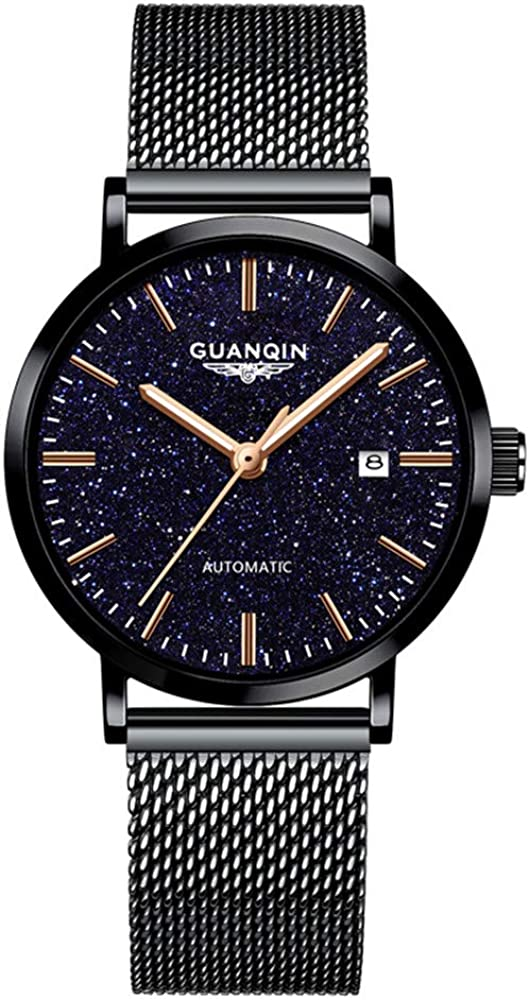 GUANQIN Manufacturer OFFicial shop Automatic Mechanical Self Winding Women Day for New popularity Watches