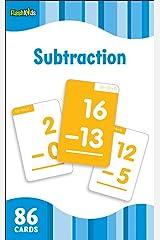 Subtraction (Flash Kids Flash Cards) Cards