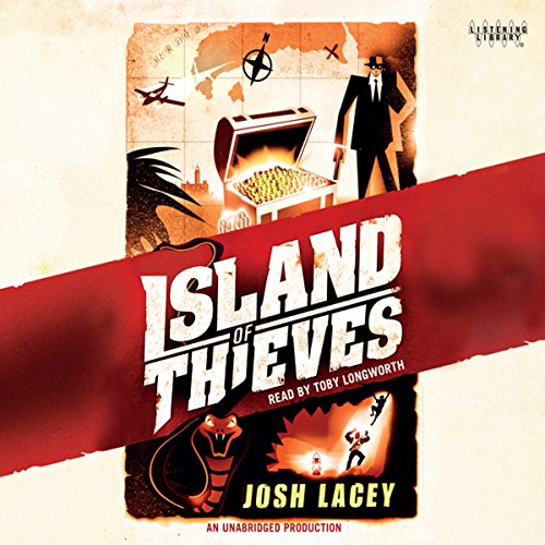 Island of Thieves audiobook cover art
