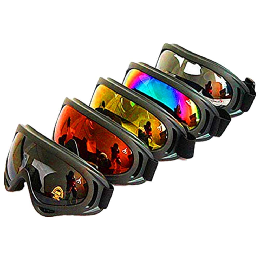Dplus Motorcycle Goggles Adjustable Protective