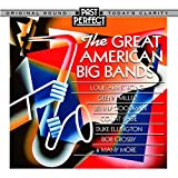 Great American Big Bands of the 1930s & 40s CD: Tap Into The Upbeat Mood Of Post-Depression USA. Remastered By Past Perfect Vintage Music